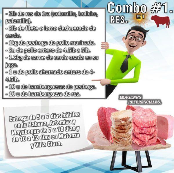 COMBO DE ALIMENTOS - RES No1