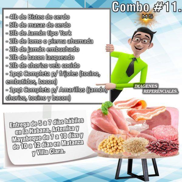 COMBO DE ALIMENTOS - MIXTO No 11