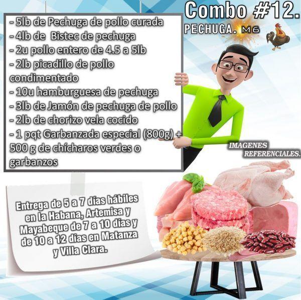 COMBO DE ALIMENTOS - MIXTO No 12