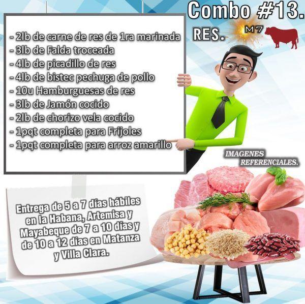 COMBO DE ALIMENTOS - MIXTO No 13