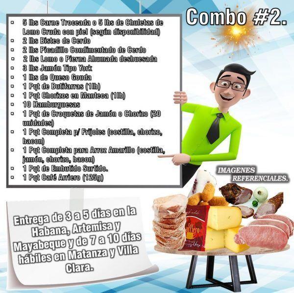 COMBOS DE ALIMENTOS FRESCOS N°2
