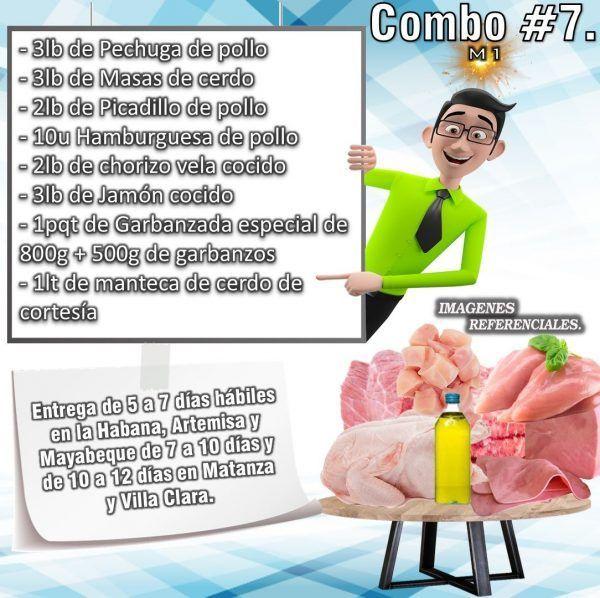 COMBO DE ALIMENTOS - MIXTO No7