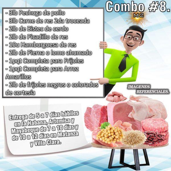 COMBO DE ALIMENTOS - MIXTO No8