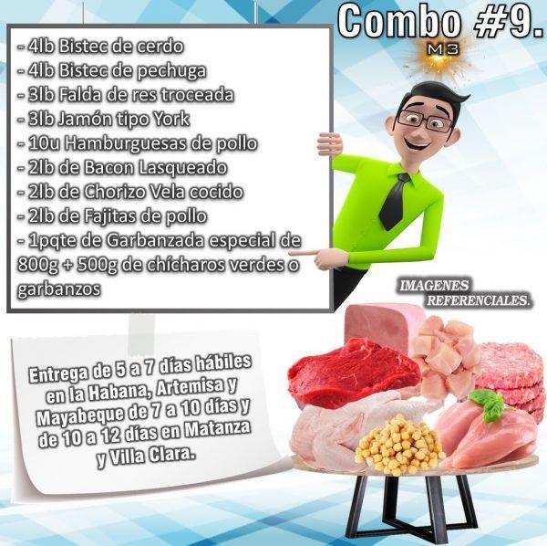 COMBO DE ALIMENTOS - MIXTO No9