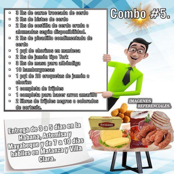 COMBOS DE ALIMENTOS FRESCOS N°5