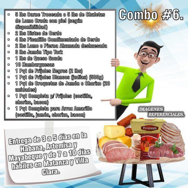 COMBOS DE ALIMENTOS FRESCOS N°6